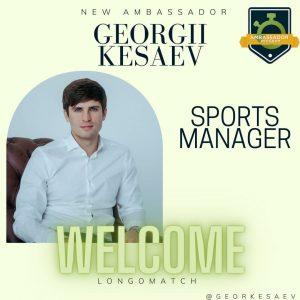 Georgii Kesaev Ambassador of LongoMatch